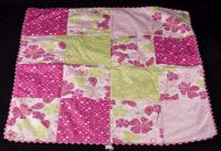 American Girl Bloom Patchwork Doll Bedding Reversible Blanket